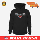 Victory Motorcycle USA Hoodie Sweatshirt Full Size $30.99 USD on eBay