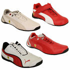 Boys PUMA Ferrari Leather Trainers Kids Evo Power Speed Cat Sports Shoes Casual