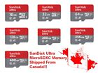 SanDisk Micro SD MicroSD Memory Card 16GB 32GB 64GB 128GB 200GB 256GB 400GB, used for sale  Shipping to Nigeria