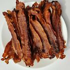 Real Applewood Smoked Bacon Jerky Snacks -Brown Sugar Candied DAILY ROASTED