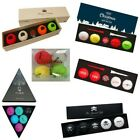 Volvik Vivid Golf Balls Special Edition Packs - Premium New Gift Set Marker Clip