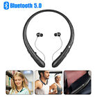 Waterproof Sport Neckband Headset Wireless Bluetooth Headphone HiFi Stereo Earbu
