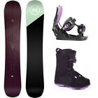 Nidecker Venus 143 Womens Snowboard+FLOW Bindings+Head BOA Boots NEW