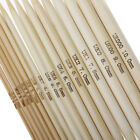 5Pcs UK 0-14 15cm Bamboo Knitting Needles Natural Double Pointed Crocheting