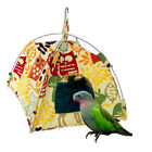 Parrot Bird Canvas Hut Tent Hanging Bed Nest Cage Hammock For Parrot Parakeet