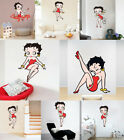 8 Styles Betty Boop Wall Sticker Girls Room Bedroom Fashion Art Wall Decals $5.56 CAD on eBay