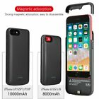 Battery External Power bank Charger Case Charging Cover For iPhone 6 7 8Plus