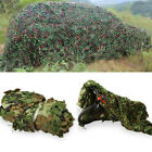 2mx3m Net Camouflage Portable Leaves Army Netting Woodland Photography