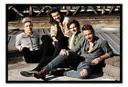 One Direction Up On The Roof Framed Cork Pin Memo Board With Pins