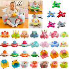 Baby Toddlers Sofa Support Seat Cover Plush Chair Learn To Sit Up Cushion Seat