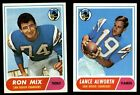 1968 Topps San Diego Chargers Team Set NM $58.0 USD on eBay