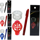 Golf Ball Drawing Line Aids Clip Liner Marker Pen Template Precision Plastic