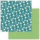"Easter Lilies - Easter Trail Double-Sided Cardstock 12""X12"" - 25/pack"
