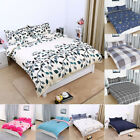 2/ 3 Piece Duvet Cover with Pillow Shams Comforter Quilt Covers Bedding Set Soft image
