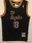 Kobe Bryant #8 Los Angeles Lakers Retro THROWBACK Men's Jersey Black on Ebay