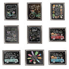 5D Blackboard Diamond Painting DIY Embroidery Cross Stitch Kit Home Decor Comely
