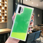 For Samsung Galaxy Note 10 Plus S10 Luminous Quicksand Dynamic Soft Case Cover