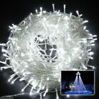 Fairy String Lights 100-500 LED Wedding Garden Xmas Tree Battery/Mains Plug In