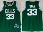 New Larry BIrd Boston Celtics 33 Green Throwback Swingman Stitched Jersey on eBay