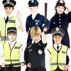 Police Cop Officer Boys Fancy Dress Emergency Services Uniform Childrens Costume