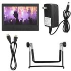"""7"""" Multi-function Display Monitor Support HDMI/VGA/AV Input with Power Adapter"""