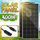 200W/300W Solar Panel Monocrystalline Dual USB Battery Flexible Charger Camping