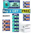Sony [BUY 2 GET 1 FREE OFFER] Silver Oxide & Lithium Watch Batteries ALL SIZES
