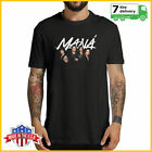 Mana Band Tour 2019 New T-shirt Black Cotton Shirt All Size US For Fan image
