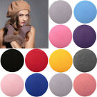 Fashion Men Women Wool Warm Beret  Hat Cap French Style New Lovely Costume Sale