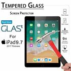 "For Apple iPad 5th Generation 9.7"" 2017 Clear HD Tempered Glass Screen Protector"