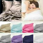 100 Pure Mulberry Silk Pillowcase Luxurious 6 Colours Home Bedding Accessories