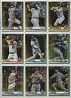 2019 Topps Update Series Gold Parallel #'d/2019 - U Pick Cards ~Buy 5 Get 2 FREE on Ebay