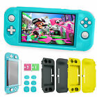 Anti-Scratch Protective Case +Tempered Glass Film+6Caps for Nintendo Switch Lite