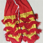 Chinese Folk art Lion Dance pants adults size Costume wool Southern Lion outfits