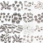 50/100pc Tibetan Silver Metal Charms Loose Spacer Beads Wholesale Jewelry Making