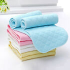 10Pcs Reusable Baby Cotton Cloth Diaper Washable 3 Layers Nappy Liners Inserts