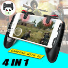 4In1 Mobile Phone Game Gamepad Joystick Controller Trigger For PUBG Android