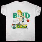 Larry Bird Vintage 1980s Boston White Men's T-Shirt Reprint All Size S-4XL G917 $21.99 USD on eBay