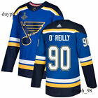 St. Louis Blues #90 Ryan O'Reilly Blue Jersey 2019 Stanley Cup Champions Final $13.99 USD on eBay