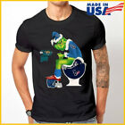 Grinch NFL Official Team Football Tennessee Titans T-Shirt Black S-6XL Reprint $11.99 USD on eBay