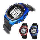 Men Women Quartz Analog Digital Waterproof Watch Stainless Steel Date Wristwatch image