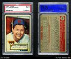 1952 Topps #114 Willard Ramsdell Cubs PSA 7 - NM