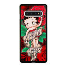 BETTY BOOP FLORAL Samsung Galaxy S7 S8 S9 S10 5G S10e Edge Plus Case $15.9 USD on eBay