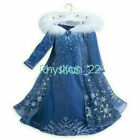 Girls 2019 Frozen 2 Princess Elsa Anna Fancy Dress Cosplay Costume Party Outfit