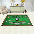 Billiard Poster Pool Hall Eight Ball Area Rug Carpet Non-Slip Floor Mat Doormats $71.99 USD on eBay