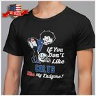 FREESHIP If You Don't Like Kiss My Endzone Betty Boop Indianapolis Colts T-Shirt $19.99 USD on eBay