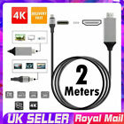 USB Type C  to HDMI 4K HDTV Adapter Cable For Samsung Galaxy S8+ S9+ Macbook UK