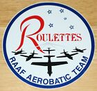 Old RAAF Royal Australian Air Force PC-9 Aerobatic Team The Roulettes Sticker