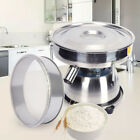 Electric Powder Sieve Shaker Vibrating Sieve Sifter Machine Food Processer SS304