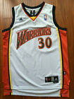 Golden State Warriors Stephen Curry Basketball Jersey Throwback #30 White